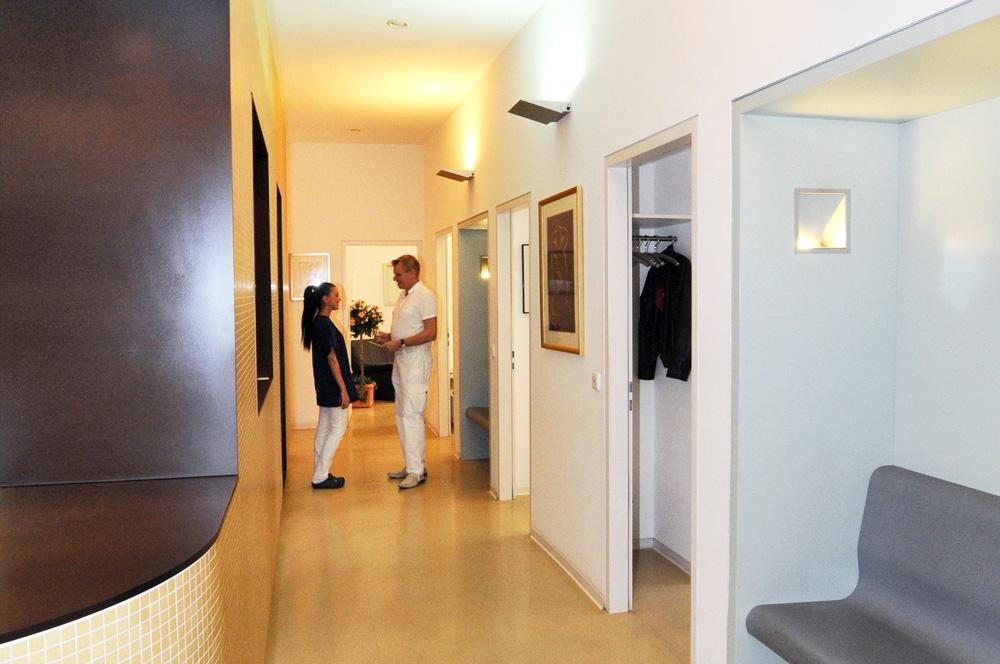 Hautarztpraxis Dermatologie im Zentrum Wiesbaden: Anmeldebereich